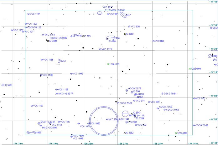 Map of Abell 1541 Region