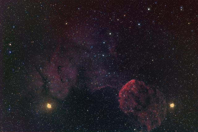 IC443 - The Jellyfish Nebula Region