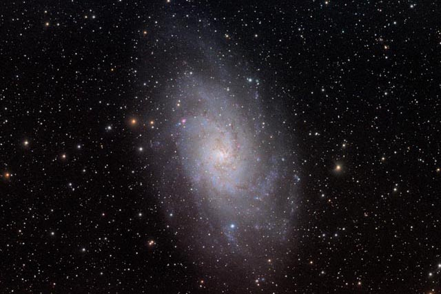 M33 - The Pinwheel Galaxy in Triangulum