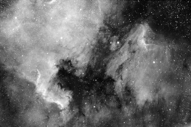 The North America and Pelican Nebulae
