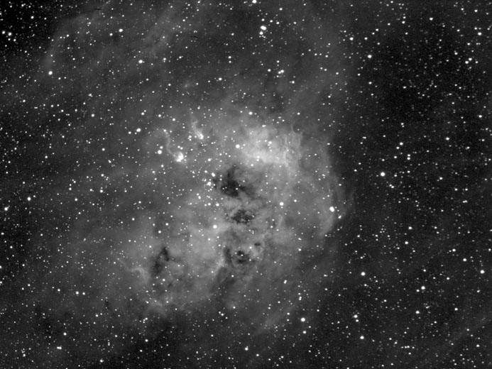 IC410 in Ha