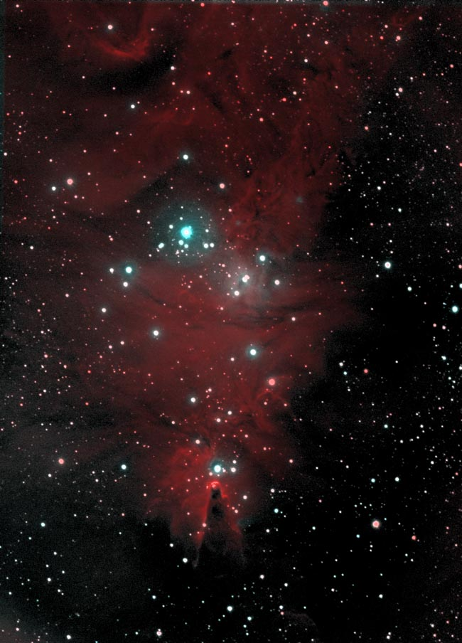 NGC2264 & Sh2-273 in H-α & OIII