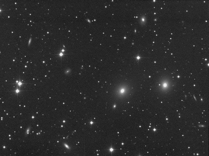 NGC7619 - a group of galaxies in Pegasus