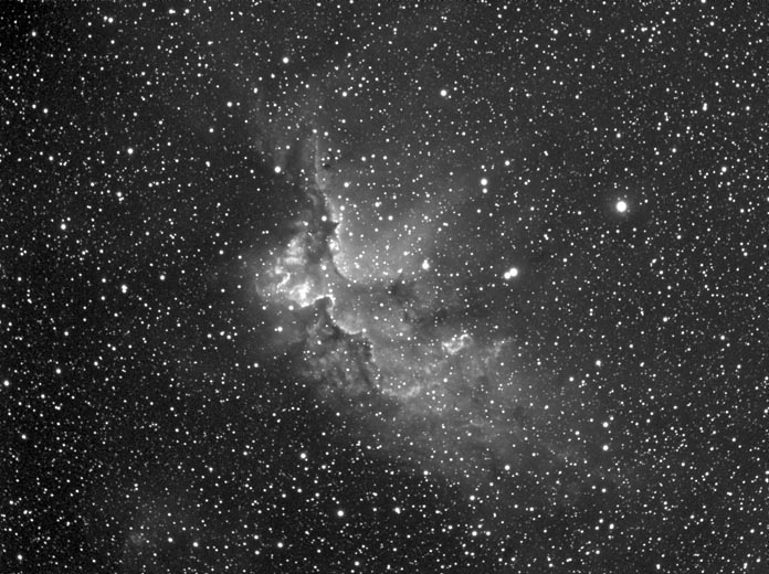 Sharpless 2-142 in Ha
