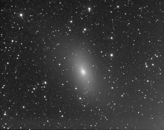 M110 Galaxy in Andromeda